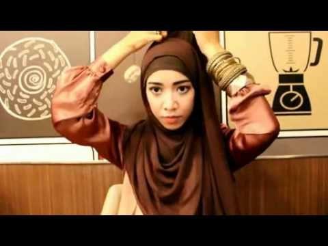 KIVITZ Hijab Tutorial for Wedding Party