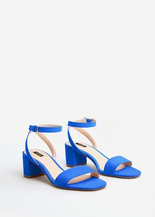 Ankle-cuff sandals -  Woman | MANGO Greece