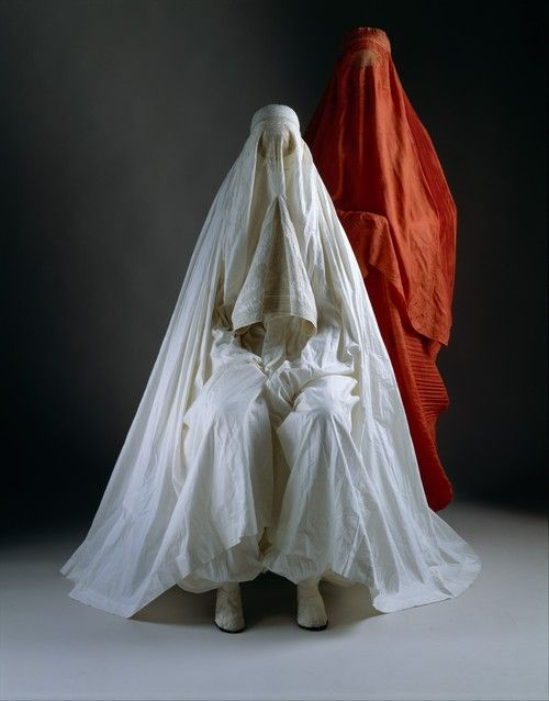 omgthatdress:  Burqas via the Costume Institute of the Metropolitan Museum of Art