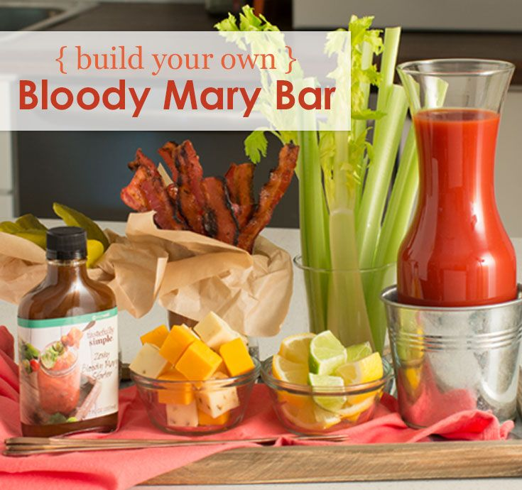 Build Your Own Bloody Mary Bar │How to build your own Bloody Mary bar with the perfect ingredients.