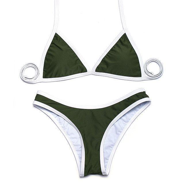 Alex Bikini Set Olivgrun Alex Bikini Olivgrun Set Bikini