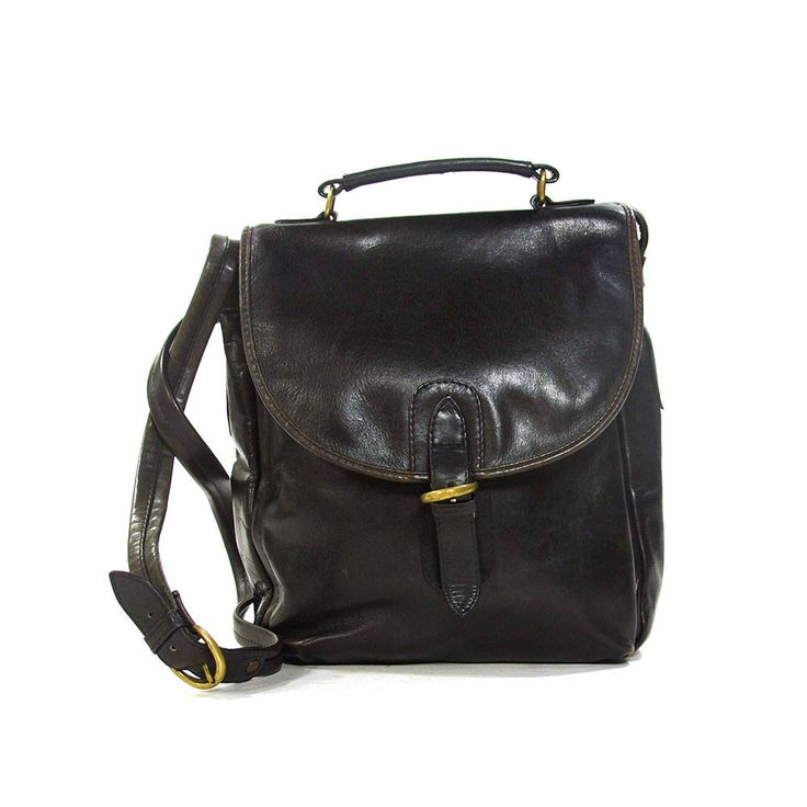 90s Black Leather Messenger Bag Vintage 1990s Tannery West Shoulder Bag Pockets Medium Satchel Long Cross-body Shoulder Strap Plaid Lining by SpunkVintage