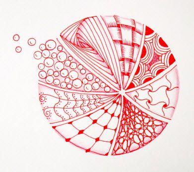 Zentangle doodle