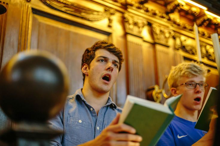 University College Oxford choir.