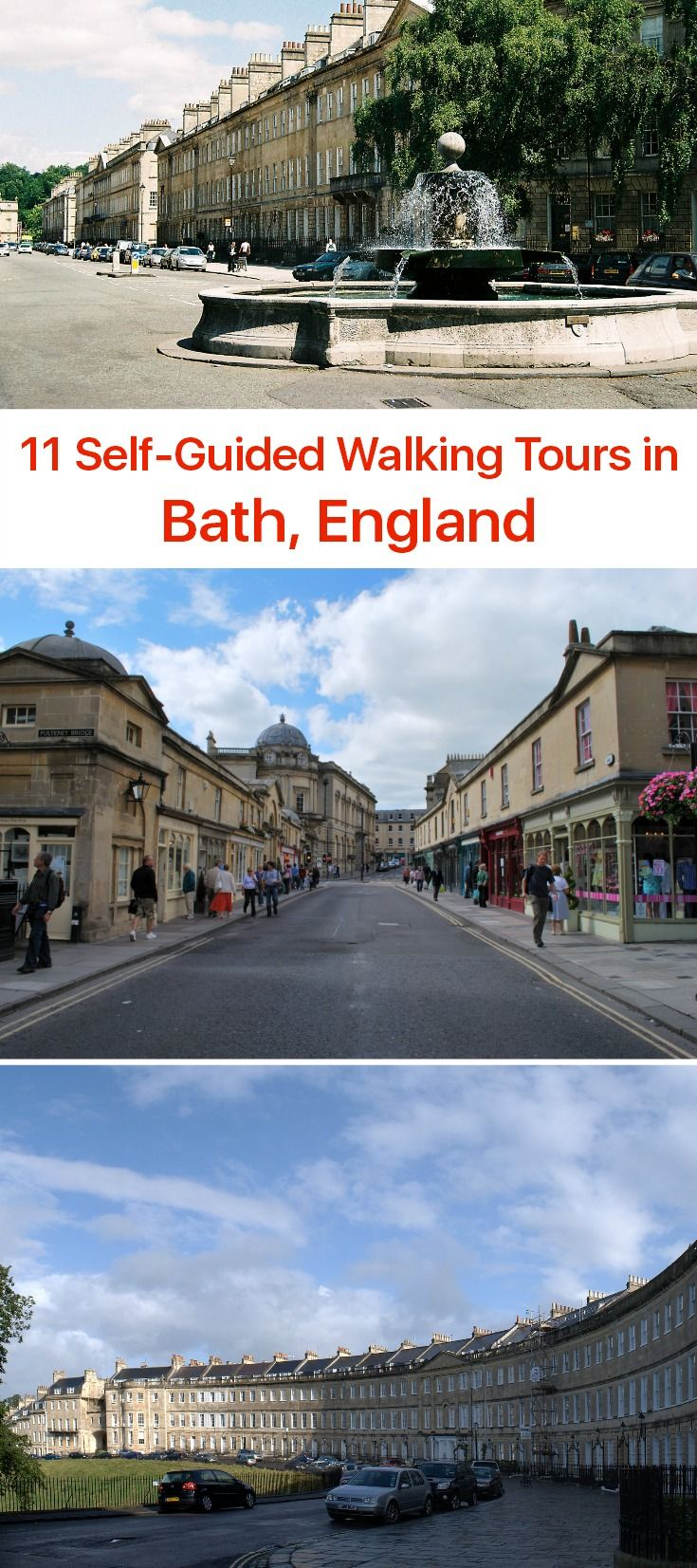 Just as the name suggests, the English town of Bath is mainly about bathing - Thermae Bath Spa is the only place in Britain where one can fully enjoy naturally hot spa water in original Roman setting, complete with befitting statues and a temple. Another major attraction Bath is famous for is the 18th-century Georgian architecture.