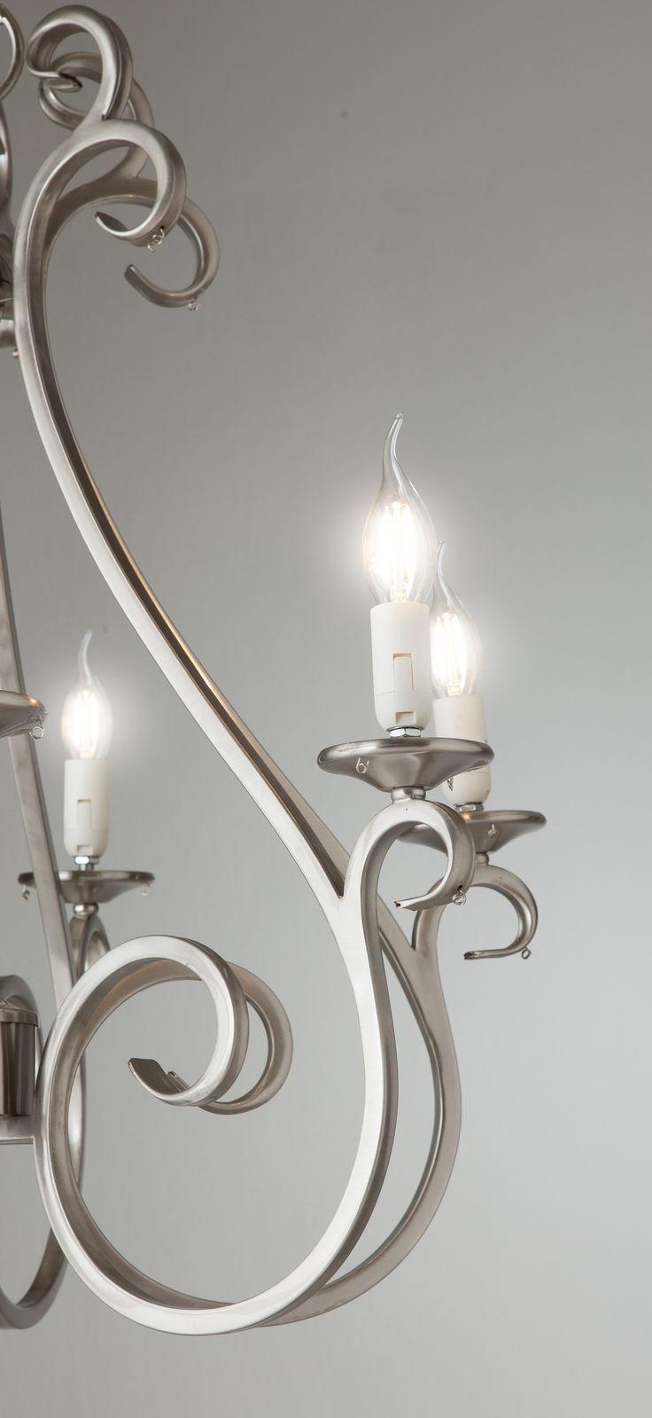 Superb Das Voltolux LED Leuchtmittel Filament Kerze eignet sich durch die klassische Windsto kerzenform besonders f r die Verwendung in offenen Leuchten mit