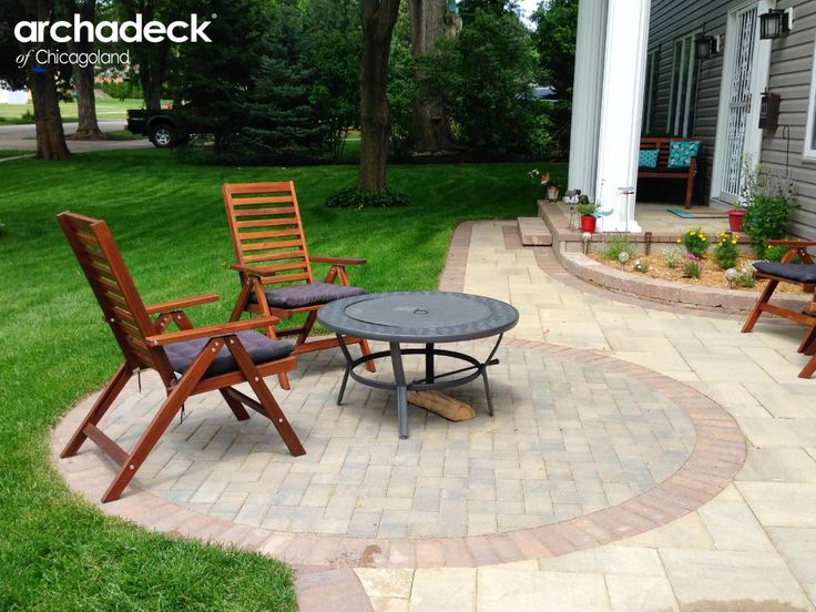 Patios & Fire Pits | Archadeck of Chicagoland