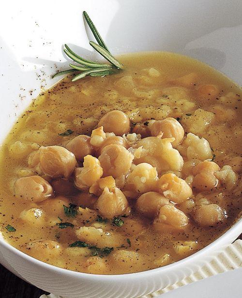 Umbrian Chickpea Soup: Minestra di Ceci