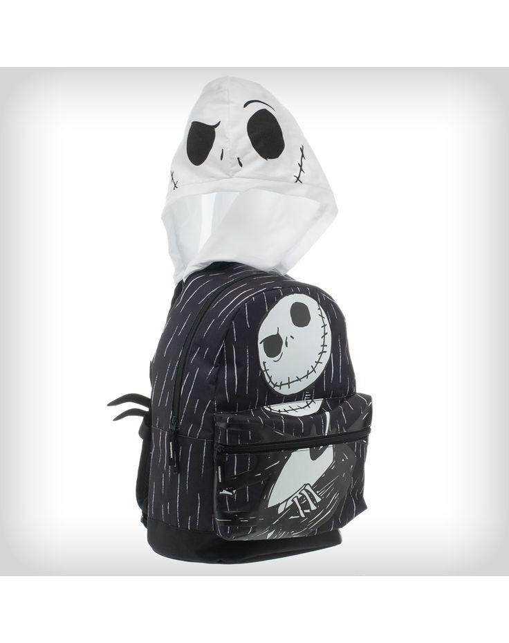 Nightmare Before Christmas Jack Hooded Backpack