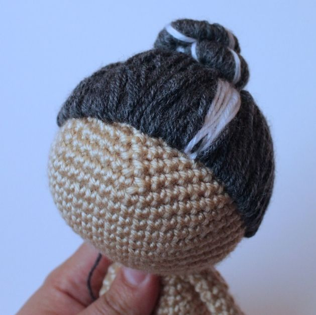 Amigurumi Change Yarn : 17 Best images about Crochet, Sewing doll hair & sculpting ...