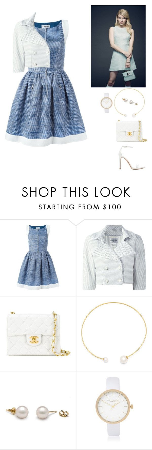 """""""Untitled #430"""" by balsam01 ❤ liked on Polyvore featuring Chanel, Fallon, River Island, Zara, Model, outfits, modelstyle and sceamqueens"""