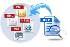 By using OST recovery tool you can easily restore OST file and export OST file into PST file without any interruption.
