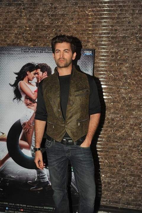 "Neil Nitin Mukesh at The Launch of ""3G"" Movie."