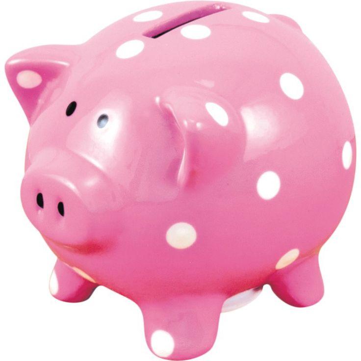 Un grand classique parmi les tirelires : la tirelire cochon rose ! Idéale pour réhausser le décor de la chambre de votre loopiot, elle saura également bien conserver ses petites économies. En plus, inutile de la casser une fois pleine ! L'accès sous la tirelire permettra à votre enfant de l'utiliser autant qu'il le souhaite. Dimensions : 7 x 7 x 8 cm