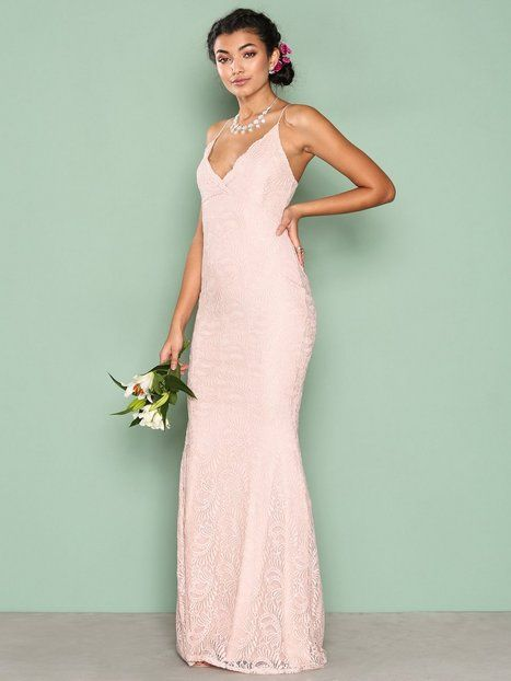 Strap Lace Gown