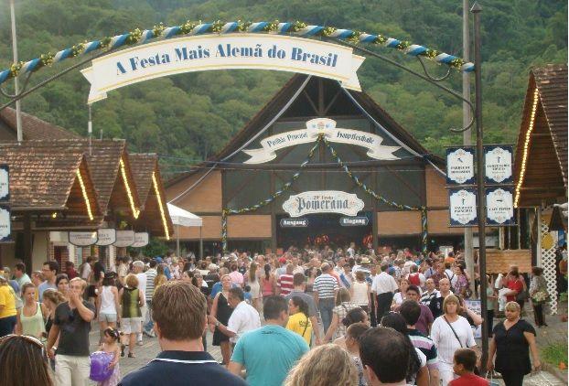 As festas populares em Santa Catarina