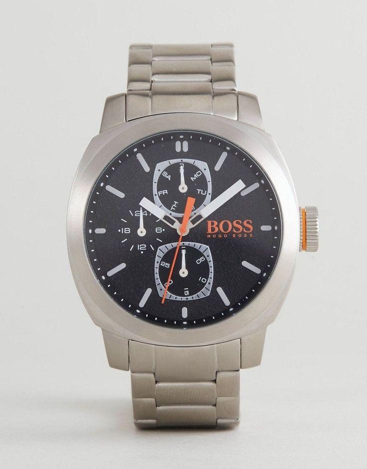 BOSS Orange By Hugo Boss 1550029 Capetown Bracelet Watch In Silver - S