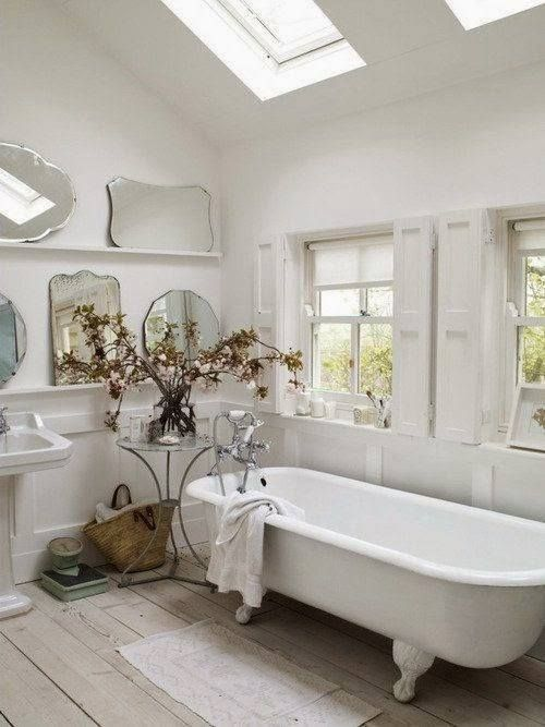 Light filled bath