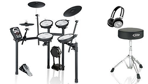 Roland TD11KVS Electronic Drum Kit BUNDLE with Drum Throne and Headphones *** Read more  at the image link.Note:It is affiliate link to Amazon.