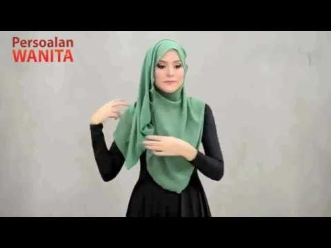 3 Simple Style Shawl Tutorial - YouTube