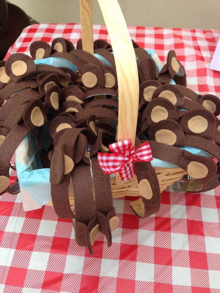 Teddy Bears Picnic Birthday Party Ideas | Photo 1 of 30 | Catch My Party