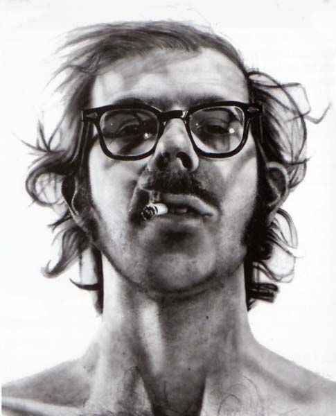 Chuck Close's Portrait work is UNBELIEVABLE.  Have seen this up close and personal and it still looks like a photo!
