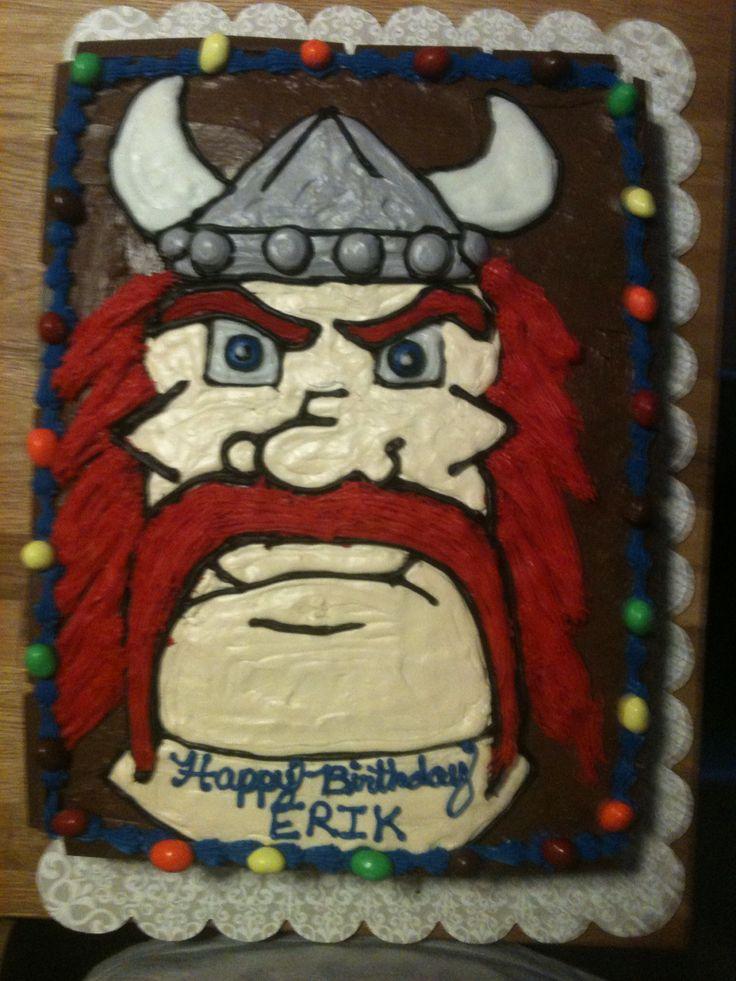 viking cake ideas