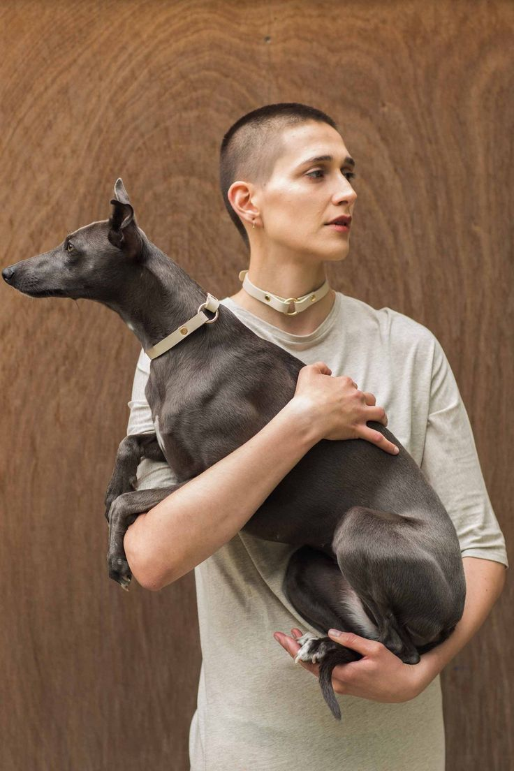 Von Hund - Welcome to the Doghouse! Fashion & Design for Men, Women & Dogs. S/S16 Campaign. Beige Ida Ring Collar and Choker. Partnerlook. Radical Transparency. www.vonhund.com