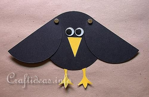 Google Image Result for http://www.craftideas.info/assets/images/Paper_Craft_for_Kids_-_Paper_Crow_with_Movable_Wings.jpg