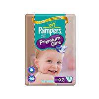 Fraldas Pampers XG Premium Care Pacotão - 16 Unidades - 9095764