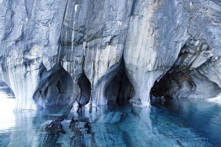 Capillas de mármol, Región de Aysén, sur de Chile #reflejo #capillasdemarmol #chile