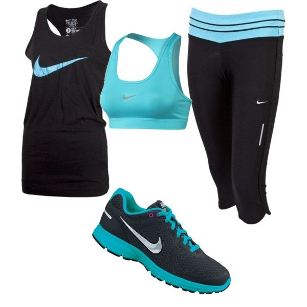 """nike workout"" by shelbylouwho on Polyvore"