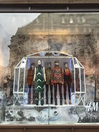 """H&M,Oxford Street,London,UK, """"The Launch of Autumn/Winter Collections"""",by Sarah Bailey,  pinned by Ton van der Veer"""