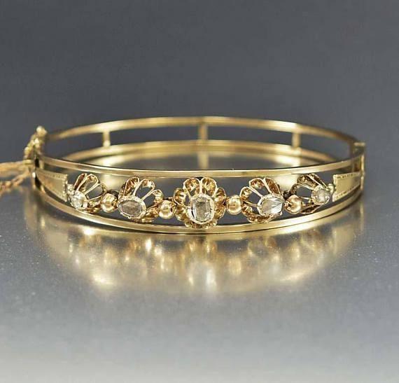 a76da6332ca Antique Diamond Bracelet