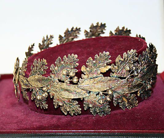 19th century French Tiara