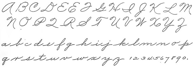 47 Best Images About American Calligraphy Handwriting On