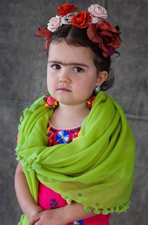 Frida Kahlo Costume Pictures, Photos, and Images for Facebook, Tumblr, Pinterest, and Twitter
