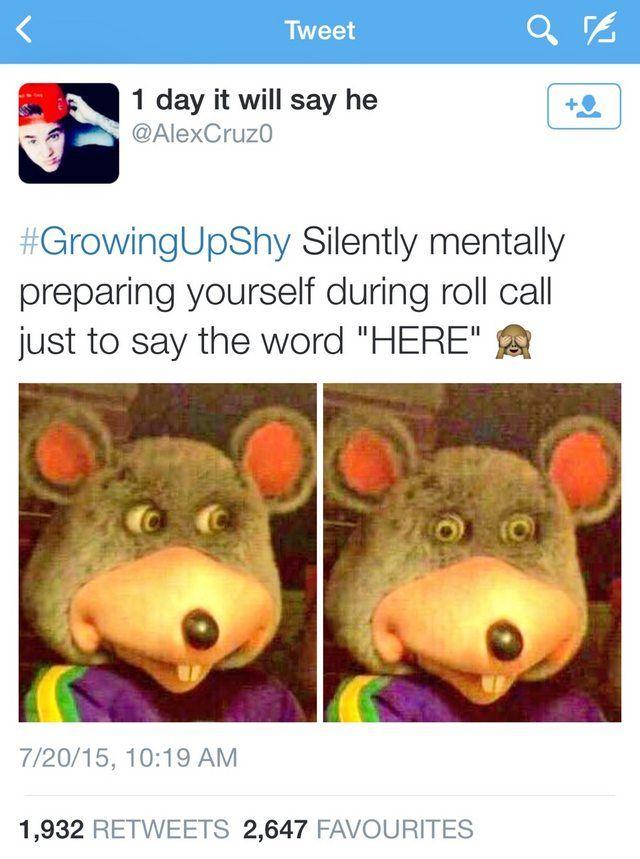 Growing up shy - Imgur