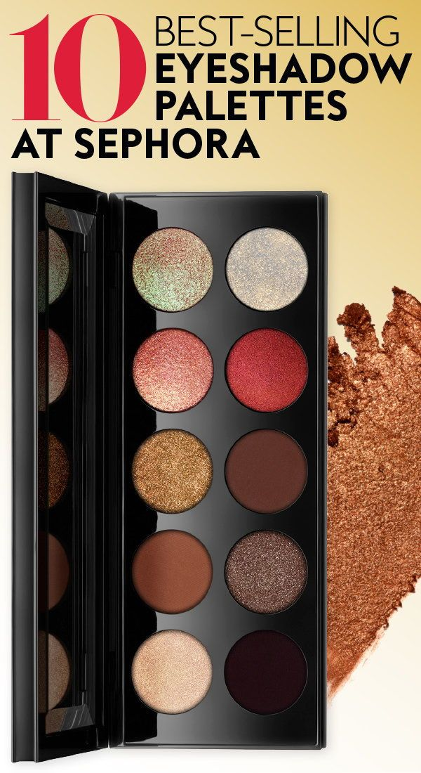 These Are The Top 10 Best Selling Eyeshadow Palettes At
