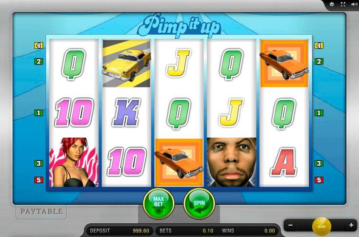 Wenn du vom Reichtum und Pracht träumst, kann dich das Automatenspiel Pimo It Up sicherlich inspirieren. Auf dem Bildschirm dieses Spielautomaten siehst du teure Autos und ihre reiche Besitzer. Das #CasinoSpiel Pimp It Up wurde von #MerkurGaming entwickelt. Das Spiel besteht aus 5 Walzen und 5 Gewinnlinien. Die Einsatzgröße kann sich von 0,05 bis 10 Kredits variieren. In diesem Spiel von Merkur gibt es Risiko-Spiele, Bonusrunden und spezielle Symbole. Mit dem tollen Automatenspiel Pimp It Up…