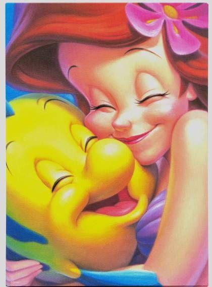 *ARIEL & FLOUNDERLittle Mermaids, Best Friends, Ariel, Littlemermaid, Disney Princesses, Disney Art, The Little Mermaid, Flounder, Disney Movie