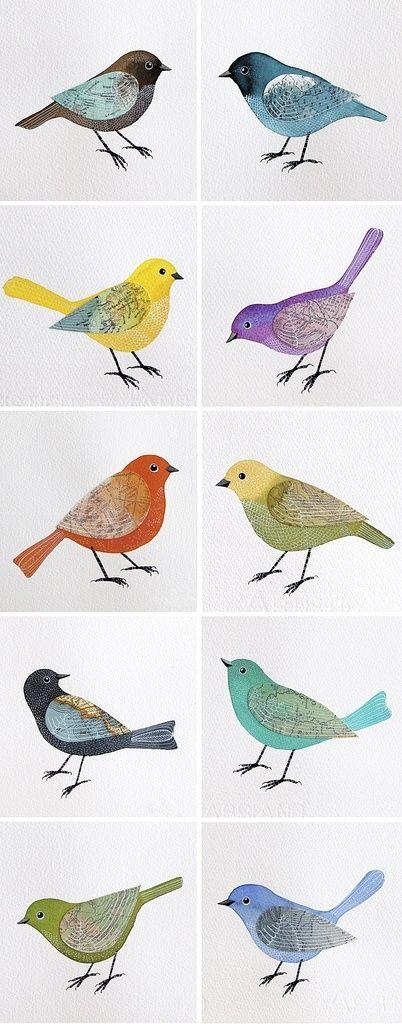 Las mejores 63 imágenes de Birds de Alesha Bishop en Pinterest