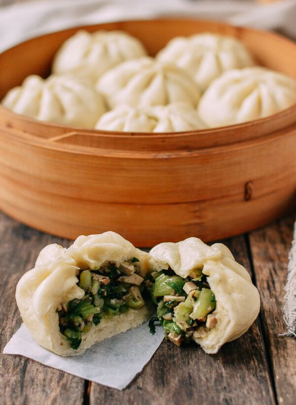 Steamed Vegetable Buns Recipe Vegetarian Recipes Asian Recipes Recipes