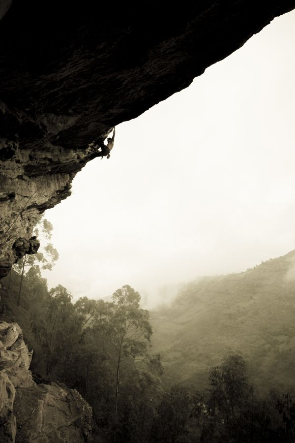 Rock Climbing by Agustina Lallana, via Behance