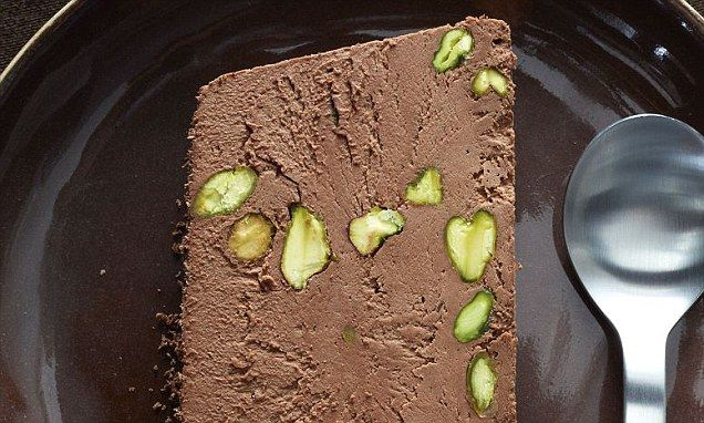 Food special: Chocolate and pistachio semifreddo