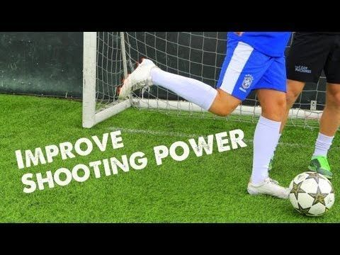 How to improve shooting power for soccer: Core exercises for improving explosiveness. Excellent for many sports. Soccer Skills for kids #kids #soccer