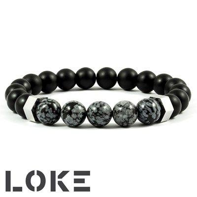 Loke Grey Stone & Steel