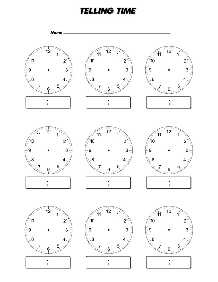 1000 Ideas About Blank Clock On Pinterest Clock