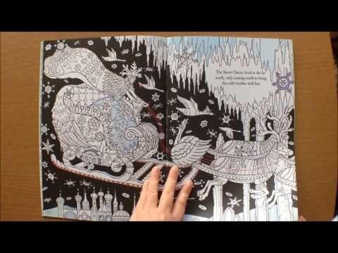 The Fairytale Colouring Book By Rachel Cloyne Flip Through