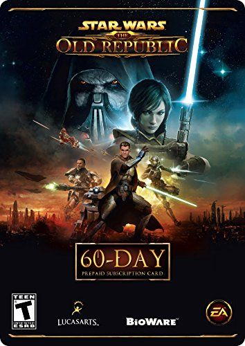 Star Wars The Old Republic  60 Day Prepaid Subscription Game Time Card Online Game Code ** Read more reviews of the product by visiting the link on the image. (Note:Amazon affiliate link)